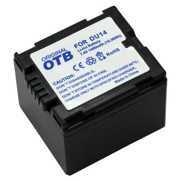 Bateria p. Panasonic NV-GS17